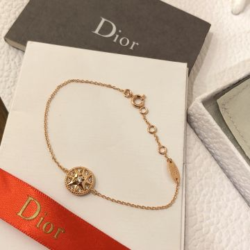 Dior Yellow Gold Plated Jewellery For Ladies, Rose Des Vents Jewellery Set Price Malaysia, Most Fashion DiorNecklace/Bracelet