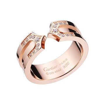 C De Cartier Fake Rose Gold Color Symbol Diamonds Wedding Gift For Lady 2018 Singapore Price