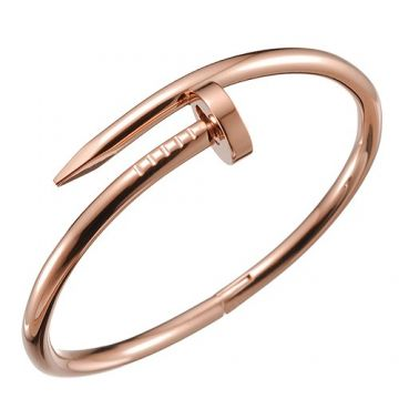 Cartier Juste Un Clou Rose Gold Color Nail-Shaped Bangle Wedding Gift For Lady Online UK B6048117