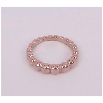 Phony VCA Perlee Pearls Of Gold Rose Gold Color Bead Ring Elegant Women Gift Australia VCARN33000