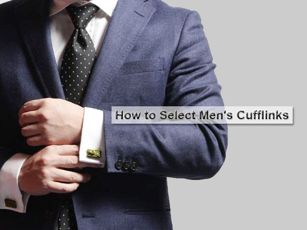 How To Choose Cufflinks For Men From WebR